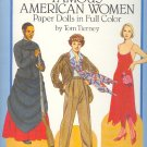 Book - Paper Dolls -  FAMOUS AMERICAN WOMEN by Tom Tierney 0486253821