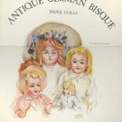 Book - Coloring Book - ANTIQUE GERMAN BISQUE Collector's Art Series Janet Nason