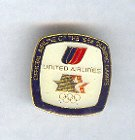 Pin - Collector Pins - Olympic Games 1984 Los Angeles -  United Airlines