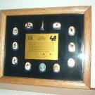 Pin - Collector Pins - Olympic Games 1984 Los Angeles -  Framed Set Two #180 NIB