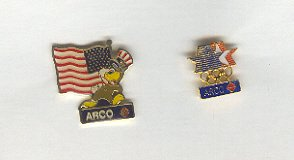 Pin - Collector Pins - Olympic Games 1984 Los Angeles -  ARCO