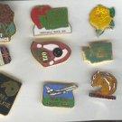 Pin - Collector Pins - 11 Individual items - Like New