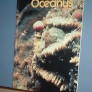 Magazine  Vintage Ships Free in US OCEANUS Oceanography Oil Polution Fall 1985 Vol 28 #3