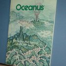 Magazine Ships Free in US  Vintage OCEANUS Oceanography Hot Springs Fall 1984 Vol 27 #3