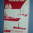 Magazine Ships Free in US  Vintage OCEANUS Oceanography Research Vessels Spring 1982 Vol 25 #1