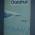 Magazine Ships Free in US  Vintage OCEANUS Oceanography Sharks Winter 1981 Vol 24 #4