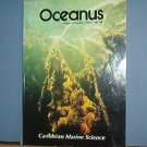 Magazine Ships Free in US  Vintage OCEANUS Oceanography Caribbean Winter 1987 Vol 30 #4