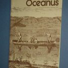Magazine Ships Free in US  Vintage OCEANUS Oceanography Archaeology Summer 1981 Vol 24 #2