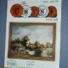 Magazine THE CHINA PAINTER Free Ship in US Porcelain Painting March/ April 1993