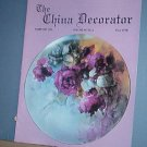 Magazine THE CHINA DECORATOR Free Ship in US Porcelain Painting February 1995