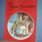 Magazine THE CHINA DECORATOR Free Ship in US Porcelain Painting December 1996