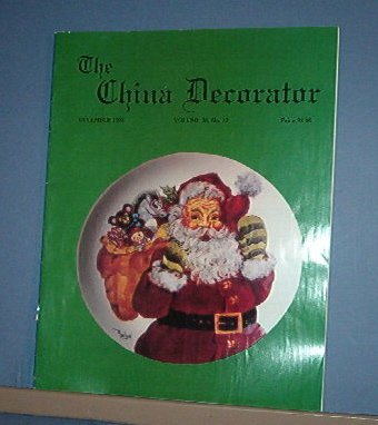 Magazine THE CHINA DECORATOR Free Ship in US Porcelain Painting December 1993