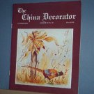 Magazine THE CHINA DECORATOR Free Ship in US Porcelain Painting October 1993