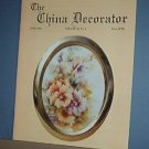 Magazine THE CHINA DECORATOR Free Ship in US Porcelain Painting June 1993
