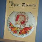 Magazine THE CHINA DECORATOR Free Ship in US Porcelain Painting November 1998