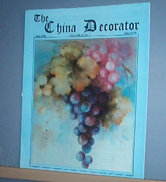 Magazine THE CHINA DECORATOR Free Ship in US Porcelain Painting June 1998