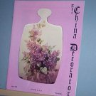 Magazine THE CHINA DECORATOR Free Ship in US Porcelain Painting April 1998