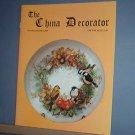 Magazine THE CHINA DECORATOR Free Ship in US Porcelain Painting Nov/Dec 1999