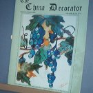 Magazine THE CHINA DECORATOR Free Ship in US Porcelain Painting Sept/Oct 2000