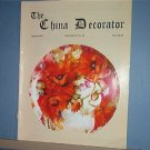 Magazine THE CHINA DECORATOR Free Ship in US Porcelain Painting  October 1997