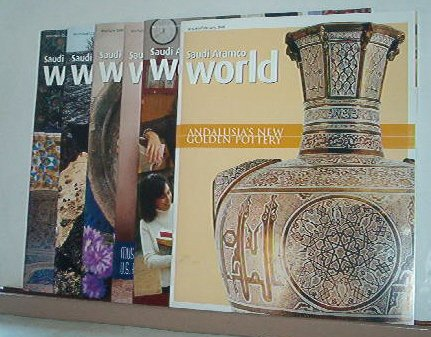 Magazines - Saudi Arabian ARAMCO WORLD - All Like New - 6 issues for 2006