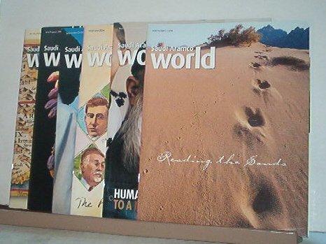 Magazines - Saudi Arabian ARAMCO WORLD - All Like New - 6 issues for 2004