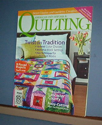 Magazine - BH&G American Patchwork & Quilting Sewing Patterns June 2007 #86