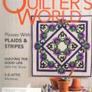 Magazine - Quilter's World Plaids and Stripes, Attic Windows June 2004