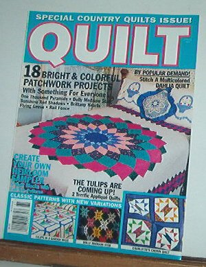 Magazine - Quilt   18 Bright Patchwork Projects Spring 1996