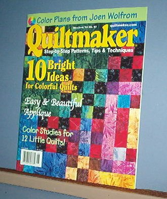 Magazine - Quiltmaker May/June 2004 No. 97 10 colorful quilts