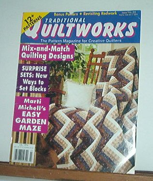 Magazine - Traditional Quiltworks No. 32 July 1994 mix and match quilting
