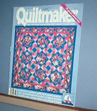 Magazine - Quiltmaker  #31 June 2003  Basic Instructions + Patterns