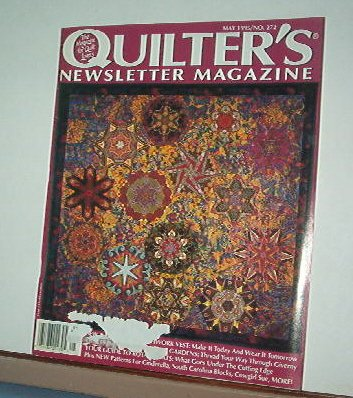 Magazine - Quilter's Newsletter - Quilting, Sewing, Patterns No.272 May 1995
