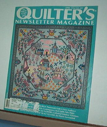 Magazine - Quilter's Newsletter - Quilting, Sewing, Patterns No.261 April 1994