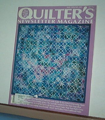Magazine - Quilter's Newsletter - Quilting, Sewing, Patterns No.252 May 1993