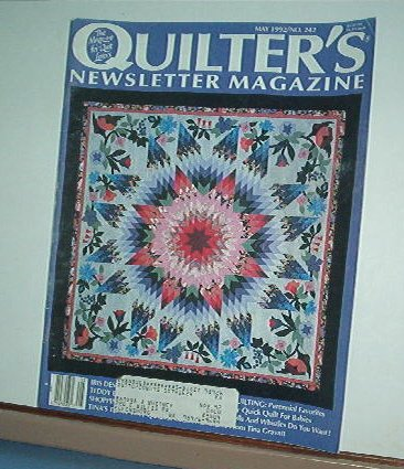Magazine - Quilter's Newsletter - Quilting, Sewing, Patterns No. 242 May 1992
