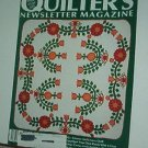 Magazine - Quilter's Newsletter - Quilting, Sewing, Patterns No. 217 Nov/Dec 1989