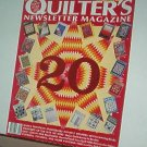Magazine - Quilter's Newsletter - Quilting, Sewing, Patterns No. 215 September 1989