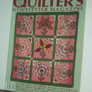 Magazine - Quilter's Newsletter - Quilting, Sewing, Patterns No.207 Nov/Dec 1988