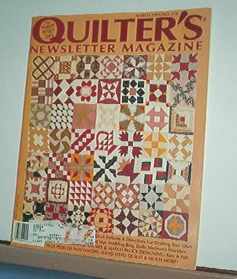 Magazine - Quilter's Newsletter - Quilting, Sewing, Patterns No.270 March 1995