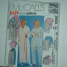 Sewing Pattern McCall's Pajamas and Robe 3454 Endless Options Size 26W-32W