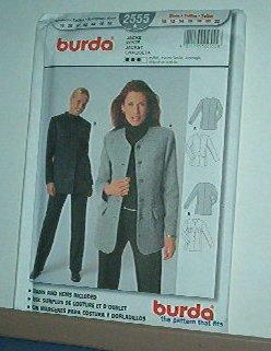 Sewing Pattern Bruda Classic long jacket Sizes 10 - 22
