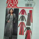 New Look Sewing Pattern 6305 Ensemble Dress Jacket coat Size 10 -22
