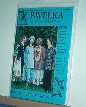 Sewing Pattern Pavelka Designs PV 29 Bloomsbury Garden Jacket & Hat, Sizes S-XL