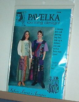 """Sewing Pattern Pavelka Designs PV 48 Fabric Lover's Jumper 32 - 60"""" Bust"""