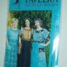 Sewing Pattern Pavelka Designs PV 47 Carpetbag Dress Sizes 6 - 24