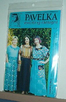 Sewing Pattern Pavelka Designs PV 47 Carpetbag Dress Sizes 6 - 24