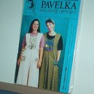 "Sewing Pattern Pavelka Designs PV 42 Boxpleat Jumper 30 - 60"" bust"