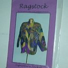 Sewing Pattern Ragstock Signature Jacket Sm Med Lg by Deborah Brunner