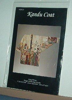 Sewing Pattern Kandu Coat by Nancy Mirman NM235 Sizes Sm - Xlg